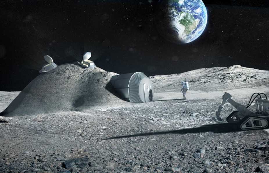 Caterpillar, A Construction Firm, Aspires To Mine The Moon
