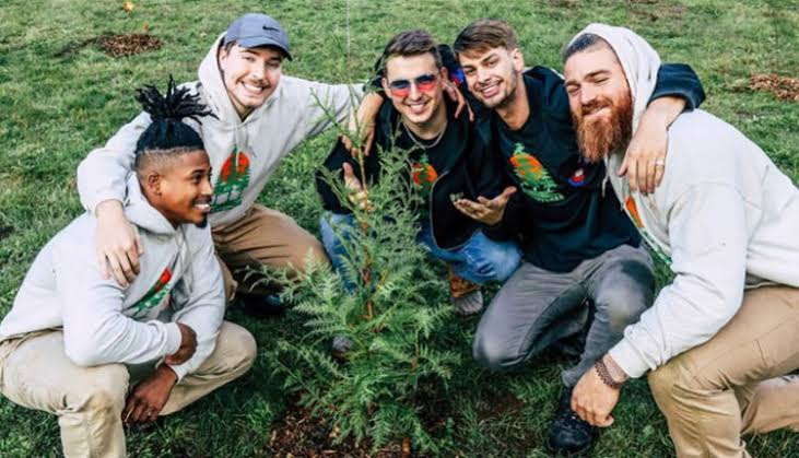 YouTubers To Plant 20 Million Trees And Have Lifted $20 Million